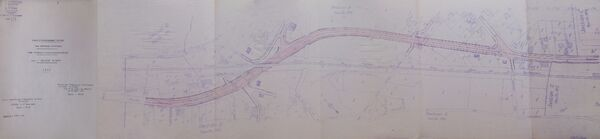 Déviation de Neuvy sur Loire RN7 1961