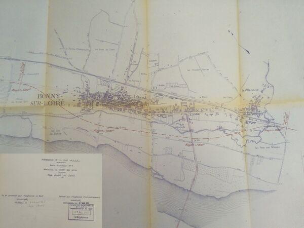 Déviation de Bonny sur Loire 1965 RN7