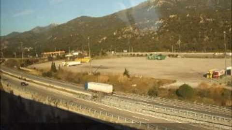 Voyage entre Figueres-Vilafant et Perpignan en TGV (Version Rapide)