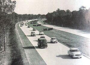A6 1963 près d'Arbonne