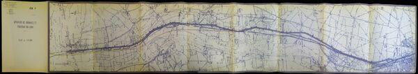 Déviation de Dordives à Montargis RN7 1970