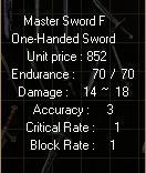 Master sword F