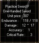 Practice Swordf3