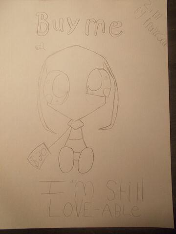File:Zim Plushie Drawing by RoxelxSorku.jpg