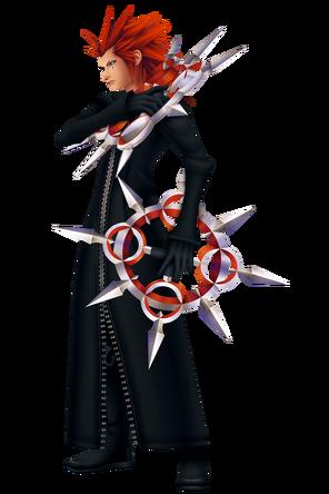 Axel Kingdom Hearts II