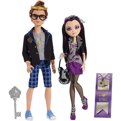 Dexter Charming and Raven Queen Date Night Doll 2 pack