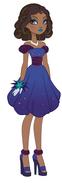 Eah Concept art - Tulip Dress Girl