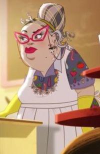 Cerise's Picnic Panic - lunch lady