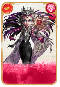 SDCC RavenQueen card