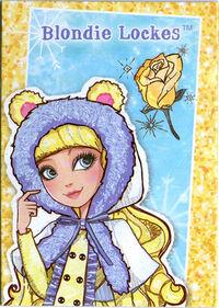 EW Blondie card