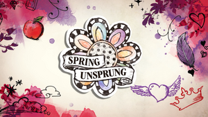 Spring Unsprung Logo Royal and Rebel
