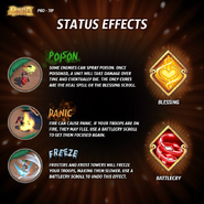 Status effects