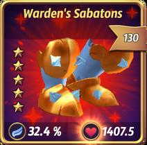 Warden'sSabatons