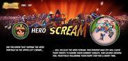 Pro Tip - Hero Scream