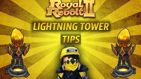 Royal Revolt 2 - Tutorial Lightning Tower Tips !