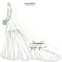 Elisabetta's dress