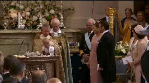 Christening of Princess Estelle of Sweden (2012)