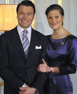 Engagement of Prince Daniel and Crown Princess Victoria
