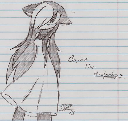 Baine The Hedgehog new picture