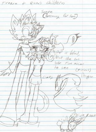 Sonne and Lizzy -Fire Arm and Ruza's children-