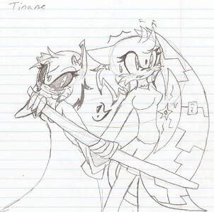 Tinane and her Error self