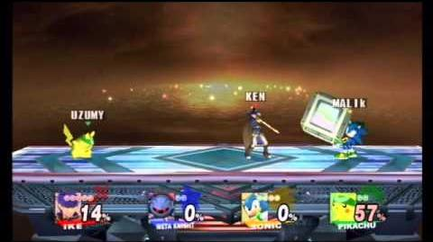 """""""Getting your ass handed to you"""" Super Smash Bros Brawl Battle 18"""