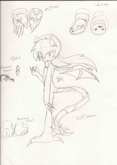 New male character -half demon-