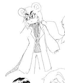 Marnie lab coat