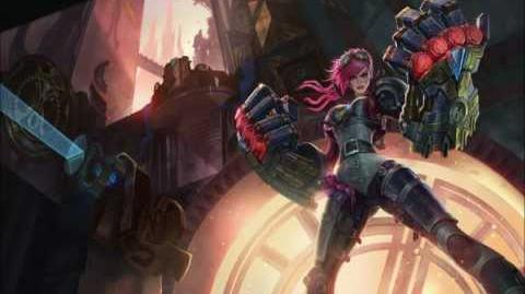 """Vi's Patch Theme Song """"Here Comes Vi!"""" (HQ) League of Legends"""