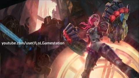 Vi Voice - English - League of Legends(Vi Animation Login full)