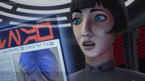 Governor Pryce interrogates Sabine - Star Wars Rebels - The Antilles Extraction