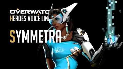 Overwatch - Symmetra All Voice Lines