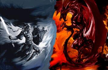 Knight Vs. Dragon