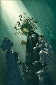 250px-Medusa and Statues