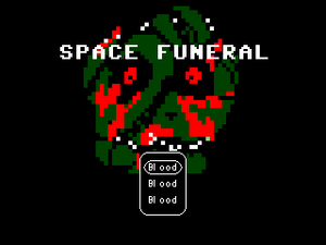 Space Funeral - Title