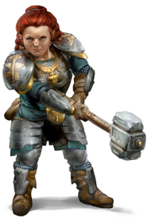 NEW TO DD Races Dwarf