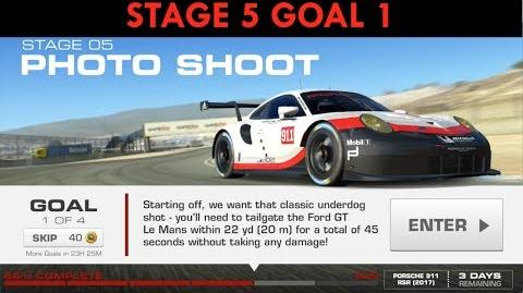 RennSport Redefined Stage 5 Goal 1 – Real Racing 3-0