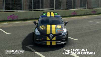 Clio Cup SB Edition No.5 Front