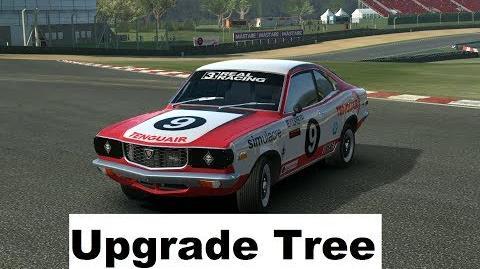 Mazda RX-3 Upgrade Tree