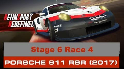Rennsport Redefined Stage 6 Race 4