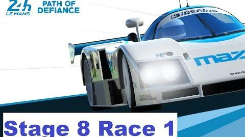 Path of Defiance Stage 8 Race 1 (3-1-3-2-3-2-1)
