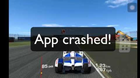 App crashing in Real Racing Endurance? Here is a fix.