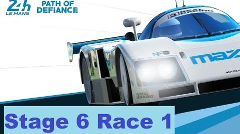 Path of Defiance Stage 6 Race 1 (1-1-3-2-3-2-1)