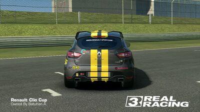 Clio Cup Team SB No. 5 Rear