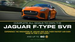 Jaguar Legacy- F-Type SVR