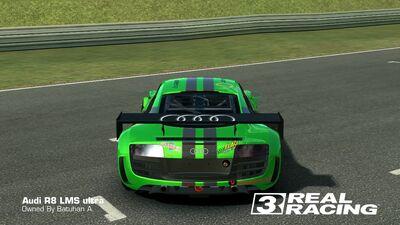R8 LMS SB Edition Rear