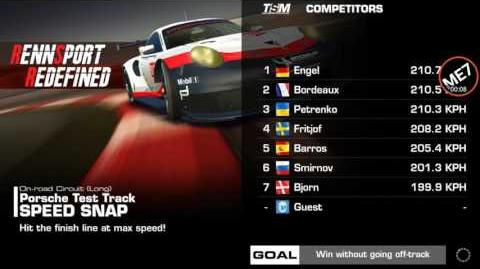 Real Racing 3; Rennsport Redefined Event; Stage 2