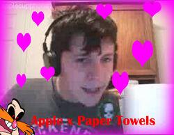 Apple x Paper Towels