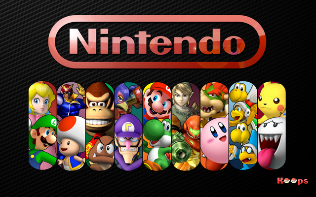 File:Nintendo Characters Wallpaper 1 -by KKF-.png