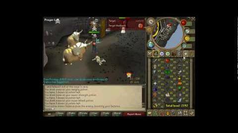 Runescape Taipan Hybrid Fire Cape Torso Dclaws Max mage Pk Video 1